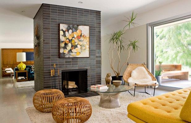 Midcentury Living Room by Jamie Bush & Co.