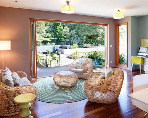 Indoor Modern Wicker Furniture | Houzz