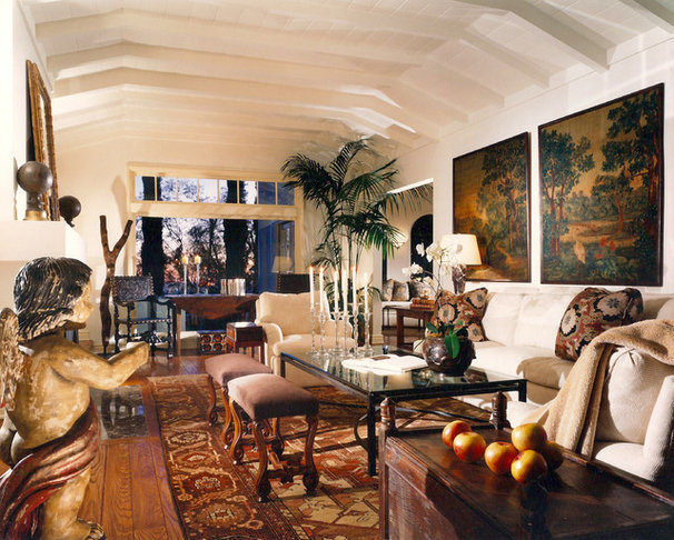 Eclectic Living Room by Brian Carlson Designs
