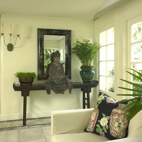 Buddha statues home design ideas pictures remodel and decor for Living room ideas zen