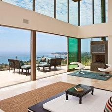 Contemporary Living Room by Sorensen Architects & Interiors