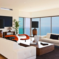 Contemporary Living Room by Sorensen Architects