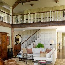 Traditional Living Room by David Scott Interiors