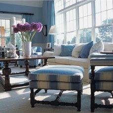 Traditional Living Room by Scott Sanders LLC