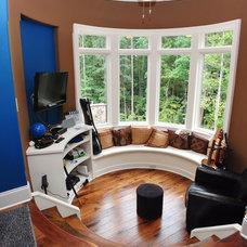 Traditional Living Room by Plattner Custom Builders, LLC
