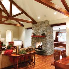 Contemporary Living Room by HartmanBaldwin Design/Build