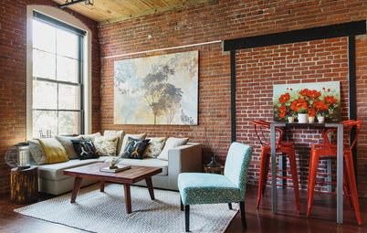 Room of the Day: A Loft Space Filled With Character