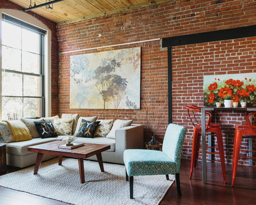 Industrial Loft Houzz