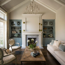 Traditional Living Room by MJK Homes, Inc.