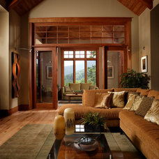 Traditional Living Room by Morgan-Keefe Builders, Inc.