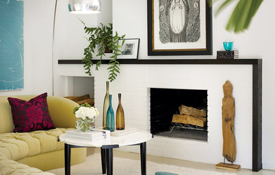 Unusual Fireplaces: Bright Spots for Average Homes