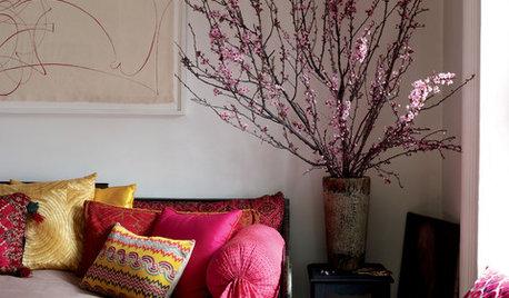 20 Drop-Dead Gorgeous Flower Arrangements & Spots to Place Them