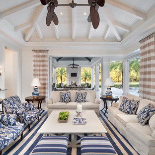 British West Indies Custom Home in Naples