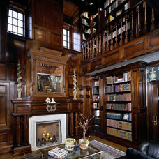 Traditional Living Room by Witt Construction