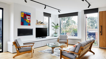 Brodecky House: Living Room