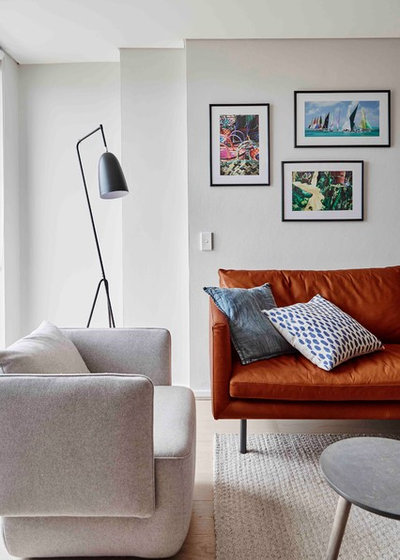 Contemporary Living Room by Luisa Volpato Interiors