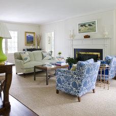 Traditional Living Room by Marika Meyer Interiors, LLC
