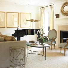 Traditional Living Room by Bradley E Heppner Architecture, LLC