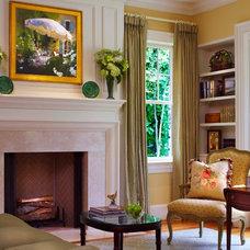Traditional Living Room by Tillman Long Interiors