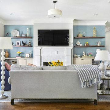 Brookhaven Living Room Remodel - Atlanta