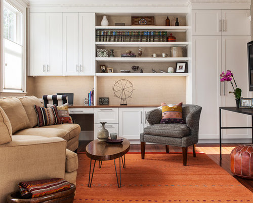 shaker style living room design ideas renovations photos
