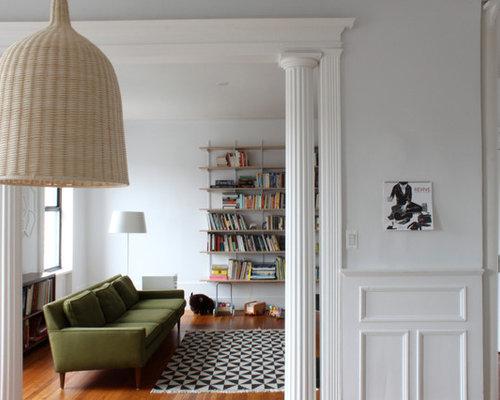 Dark Green Sofa Home Design Ideas Pictures Remodel And Decor