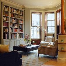 Traditional Living Room by Juliet Pegrum Design