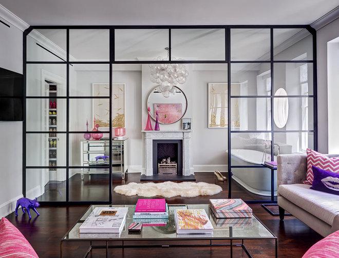 Salon éclectique de Tamara Eaton Design