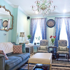 Traditional Living Room by Brooklyn DIY designs