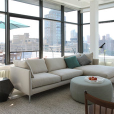Contemporary Living Room by Maletz Design