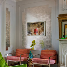 Eclectic Living Room by Francis Dzikowski Photography Inc.