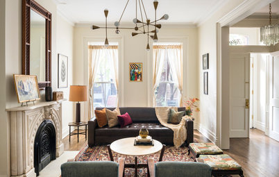 Room of the Day: A Double Parlor Hits All the Right Notes