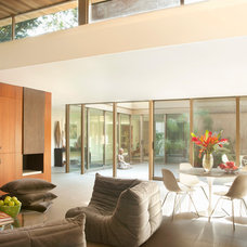 Midcentury Family Room by BiLDEN