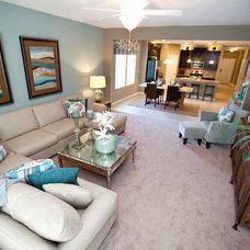 Beach Style Living Room by Nocatee | Ponte Vedra, Florida