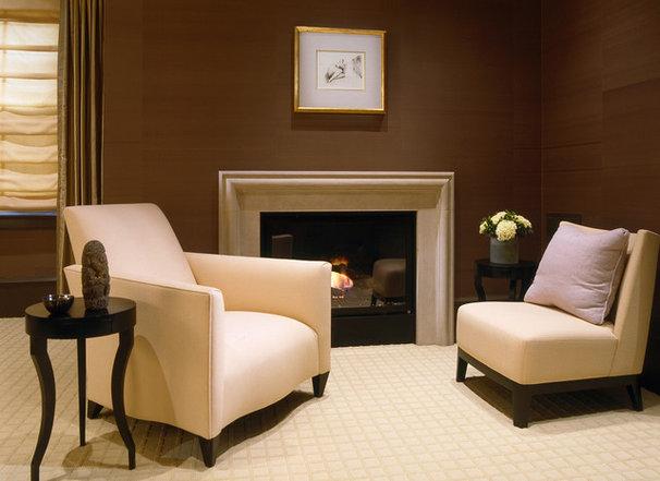 Contemporary Living Room by BROWN DAVIS INTERIORS, INC.