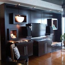Contemporary Living Room by Park Avenue Designs, Inc.