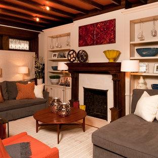 Brownstone Living Room -  Philadelphia PA