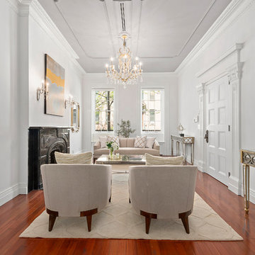 Brownstone Townhouse Living Room