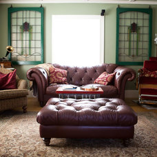 Eclectic Living Room by Tess Fine