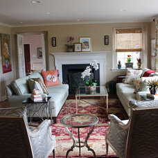 Traditional Living Room by Tracy DelGrippo- Ethan Allen King of Prussia
