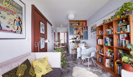 Houzz Tour: 2-Room HDB Flat is Arty and Characterful