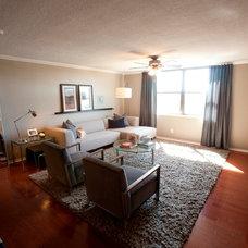 Contemporary Living Room by Liv By Design Interiors