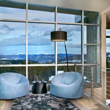 Buckhead Client's Ski Retreat - Living Room