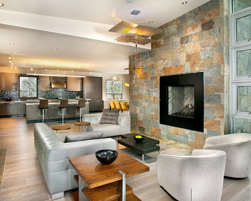 Porcelain slate tile ideas pictures remodel and decor - Penthouse peakmichael gallagher and new mood design ...