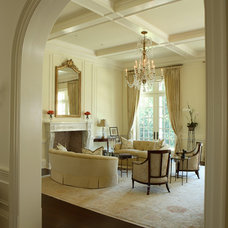 Traditional Living Room by Christy Dillard Kratzer
