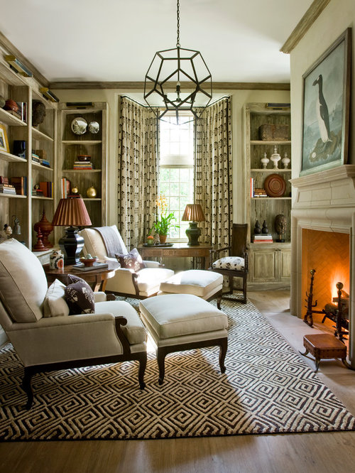 Living Room Study: Best Cozy Study Design Ideas & Remodel Pictures