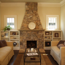 Traditional Living Room by Red Level Renovations, LLC