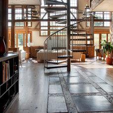 Traditional Living Room by Wolstenholme Associates, LLC