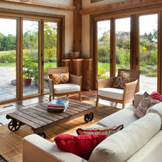 Traditional Living Room by Wolstenholme Associates, LLC