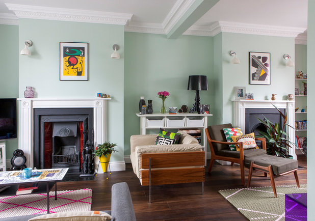 Houzz tour a victorian terrace in hackney gets an for Bedroom ideas victorian terrace